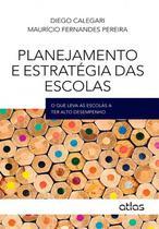 Livro - Planejamento E Estratégia Das Escolas: O Que Leva As Escolas A Ter Alto Desempenho -