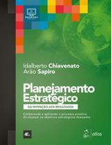 Livro - Planejamento Estratégico - Da Intenção aos Resultados -