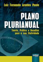Livro - Plano Plurianual -