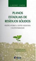 Livro - Planos estaduais de resíduos sólidos -