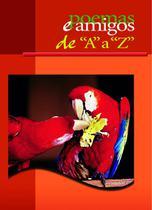 Livro - Poemas e amigos de A a Z (capa vermelha) -