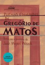 Livro - Poemas escolhidos de Gregório de Matos -