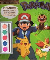 Livro Pokemon Pintando Com Aquarela - Online -