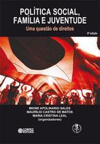 Livro - Política social, família e juventude -