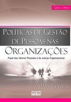 Livro - Políticas De Gestão De Pessoas Nas Organizações -