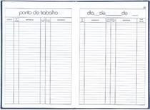 Livro Ponto 1/4 54 160 Folhas Tilibra -