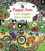 Livro - Poppy e Sam: Livro mágico para colorir -