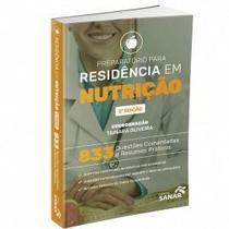 Livro Preparatório Para Residência Em Nutrição 833 Questões - Sanar