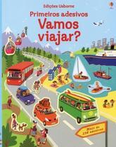 Livro - Primeiros adesivos : Vamos viajar? -