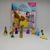Livro Princesas Grandes Aventuras 10 Miniaturas + Cenário Gigante - Melhoramentos