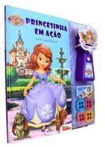 Livro - Princesinha Sofia - Princesinha em Ação – Livro com projetor
