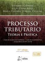 Livro - Processo Tributário - Teoria e Prática - Cassone - Atlas -