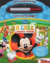 Livro Procurar e Achar Escrever e Apagar A Casa do Mickey - Abril -