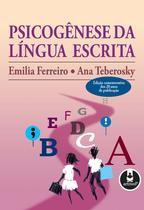 Livro - Psicogênese da Língua Escrita -