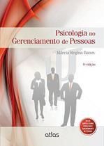 Livro - Psicologia No Gerenciamento De Pessoas -