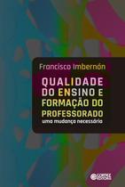 Livro - Qualidade do ensino e formação do professorado -