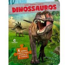Livro quebra cabeça dinossauros - Culturama
