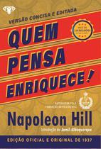 Livro - Quem pensa enriquece - LIVRO DE BOLSO -