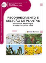Livro - Reconhecimento e seleção de plantas - Processos, morfologia, coleta e ciclo de vida