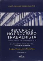 Livro - Recursos No Processo Trabalhista: Teoria, Prática E Jurisprudência -