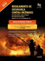 Livro - Regulamento de segurança contra incêndios das edificações e áreas de risco no estado de São Paulo -
