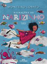 Livro - Reinações de Narizinho (edição de luxo) -