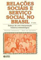 Livro - Relações sociais e serviço social no Brasil -