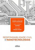 Livro - Responsabilidade Civil E Nanotecnologias -