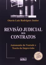 Livro - Revisão judicial dos contratos : autonomia da vontade e teoria da imprevisão -