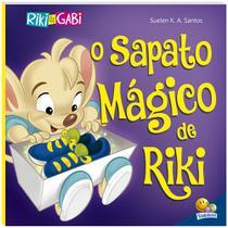 Livro - Riki & Gabi Aventuras: O Sapato Mágico de Riki -