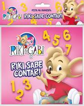 Livro - Riki & Gabi - festa na banheira! Riki sabe contar -