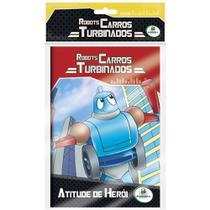 Livro - Robots - Carros turbinados - Kit com 10 und. -