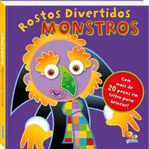 Livro - Rostos divertidos: monstros -