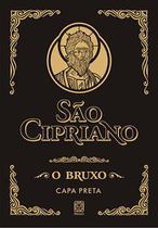 Livro - Sao Cipriano O Bruxo (Capa Preta) -
