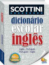 Livro - Scottini - Dicionário (60 mil verbetes): Inglês -
