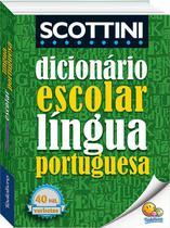 Livro - Scottini - Dicionário escolar da língua portuguesa -
