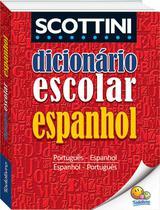 Livro - Scottini - Dicionário escolar de espanhol -