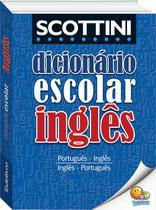 Livro - Scottini - Dicionário escolar de inglês -