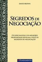 Livro - Segredos Profissionais - Segredos De Negociação -