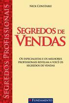 Livro - Segredos Profissionais - Segredos De Vendas -