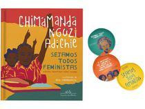Livro Sejamos Todos Feministas  - Chimamanda Ngozi Adichie com Brinde