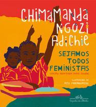 Livro - Sejamos todos feministas (edição de luxo ilustrada) -