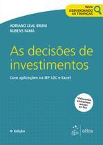 Livro - Série Desvendando As Finanças - As Decisões De Investimentos -