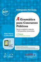 Livro - Série Provas & Concursos - A Gramática para Concursos Públicos -