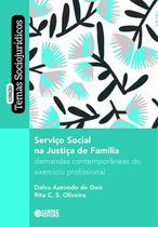 Livro - Serviço Social na Justiça da Família -