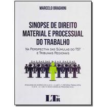 Livro - Sinopse Dto. Material E Proc.Do Trabalho - 01Ed/17 - Ltr editora