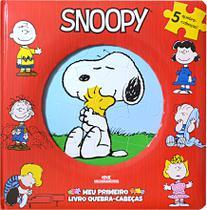 Livro - Snoopy – Meu Primeiro Livro Quebra-Cabeças -