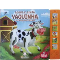 Livro Sonoro Toque e Sinta: Vaquinha - Blu Editora -
