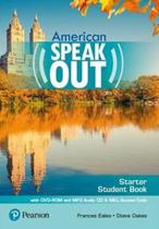 Livro - Speakout Starter 2E American - Student Book with DVD-ROM and MP3 Audio CD& MyEnglishLab -