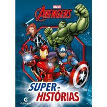 Livro - SUPER-HISTORIAS VINGADORES -